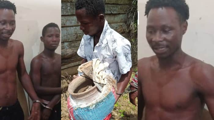 Another sakawa bust: Taxi driver arrested while transporting human bones to fetish priest