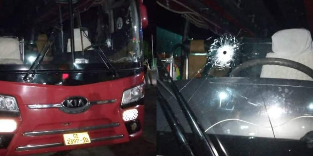 Armed robbers attack VIP bus; shoot at the driver, rob passengers