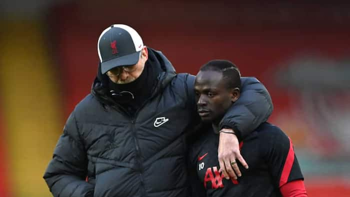 Video clip of Sadio Mane shunning handshake from Klopp after Liverpool's win at Man United surfaces online