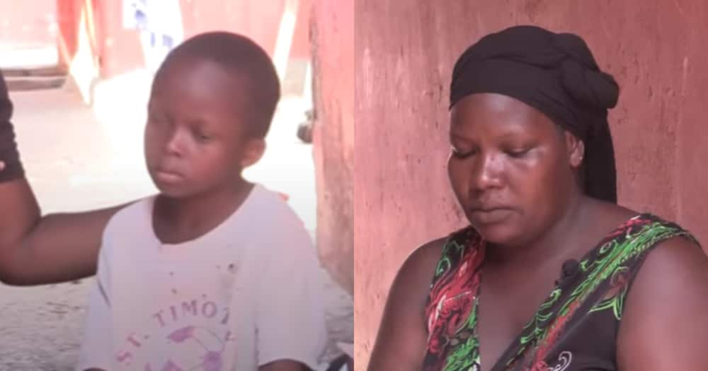 Fati Mustapha: Mom of 6 kids cries for help for her 7-year-old son soon to go blind at age 10