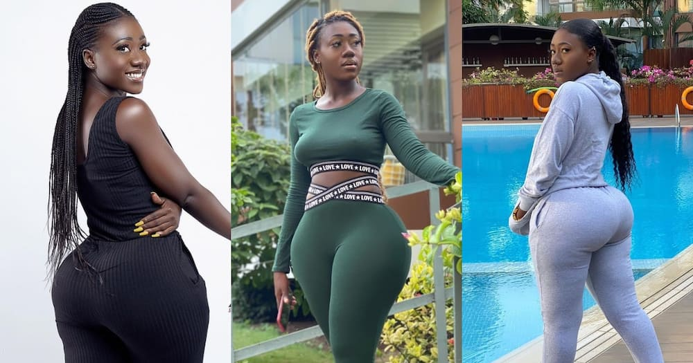 Internet sensation Hajia Bintu dazzles in 4 stunning photos; fans drool over them