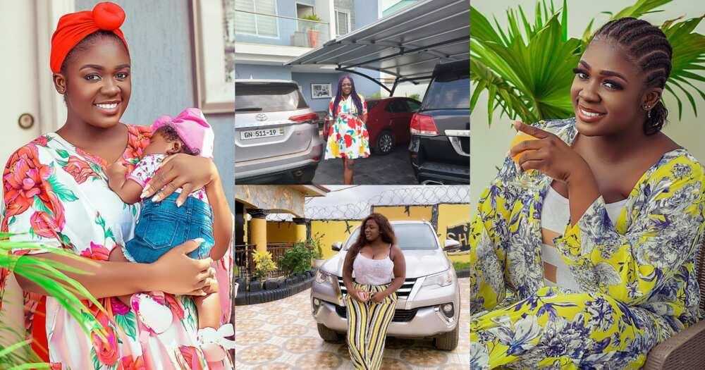 Tracey Boakye: Photos of Kumawood actress' mansions and cars