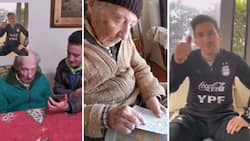 Messi sends stunning message to 100-year-old fan who takes record of his every goal with pencil and paper