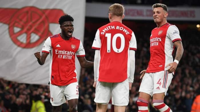 He has been chasing it for long - Arsenal boss Mikel Arteta reacts to Partey's first goal