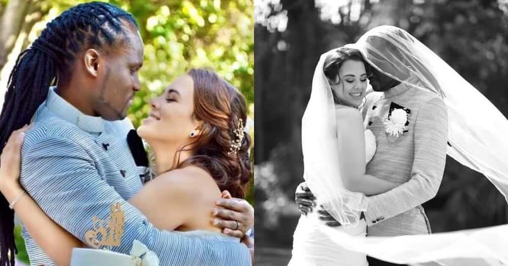 Not even corona could stop this man from tying the knot with his best friend