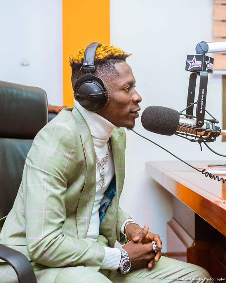 Shatta Wale confesses to being given a role at EXIM Bank but denies receiving 2 million cedis
