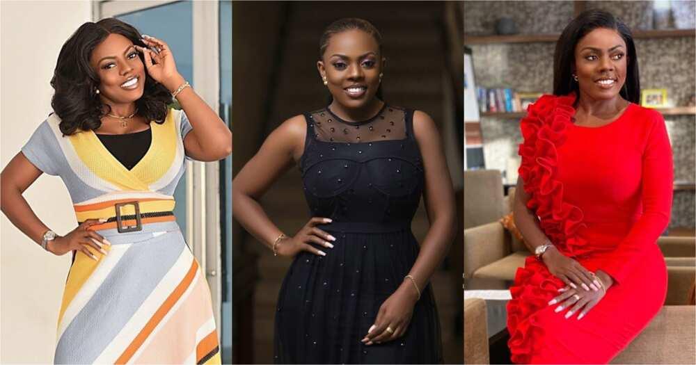 Nana Aba Anamoah: No makeup video GH One TV boss pops up