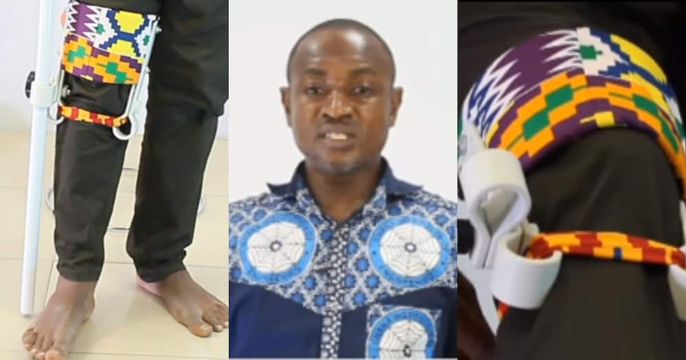Emmanuel Wireko-Brobby: KATH engineer invents leg crutch for persons with disabilities