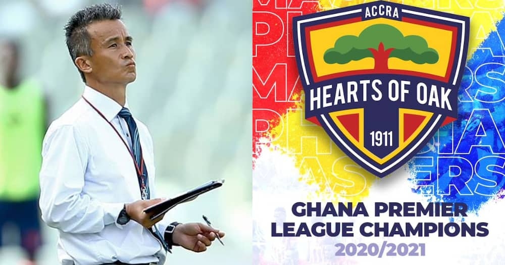 Ex-Hearts Coach Kenichi Yatsuhasi joins the phobian party with a congratulatory message