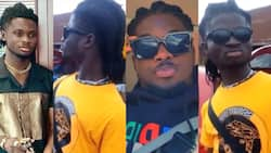 """""""I thought it was him"""" - Fans surprise over video of new Kuami Eugene lookalike; call him Kwadaso Rockstar"""