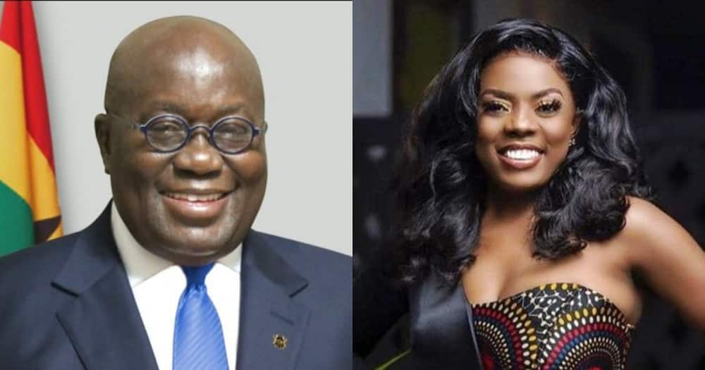 The conjoined twins are grateful - Nana Aba Anamoah thanks Akufo-Addo for footing surgery bill