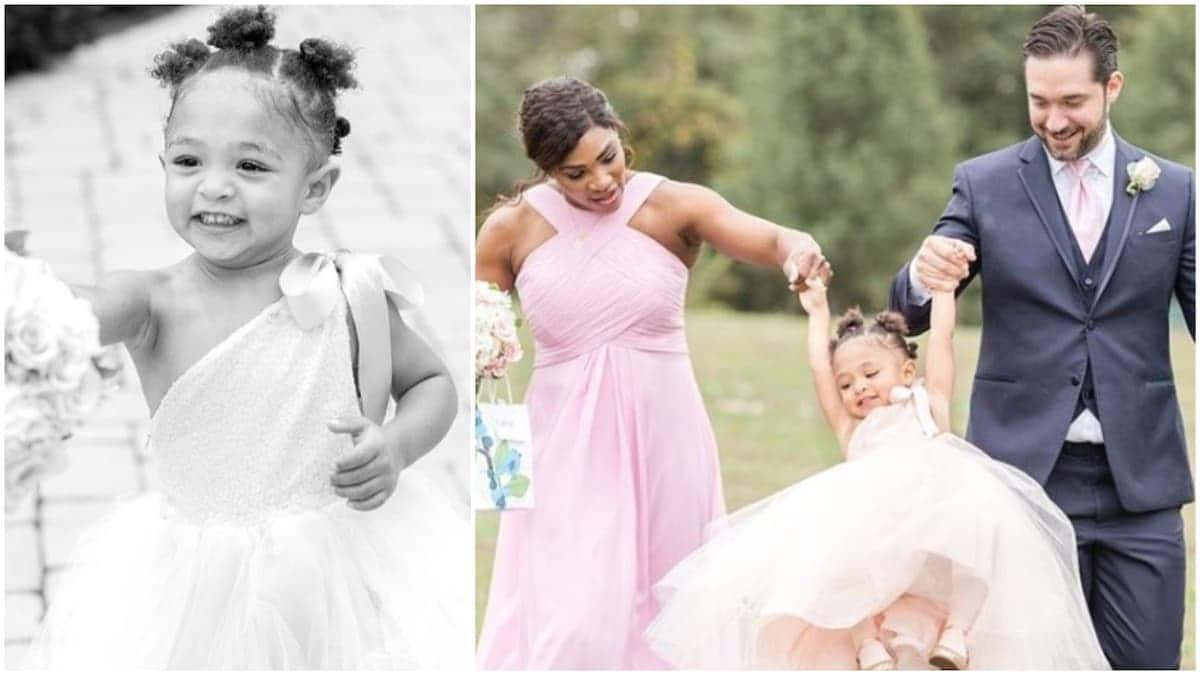 Serena Williams' 2-year-old daughter warms hearts as serves as a flower girl (photos)