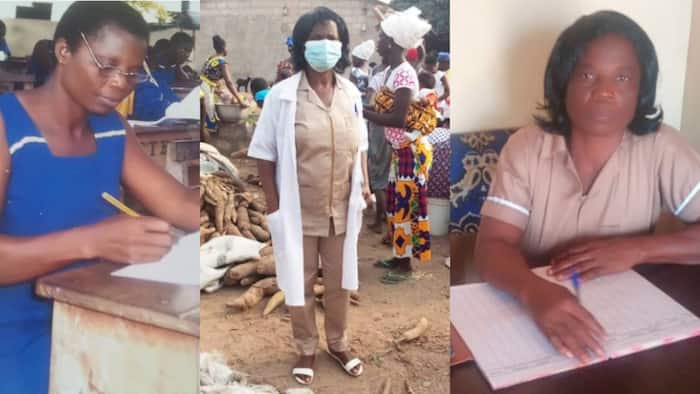 Felicitas Naa: Ghanaian mom of 3 who completed JHS at 41 now Environmental Health Assistant at 55