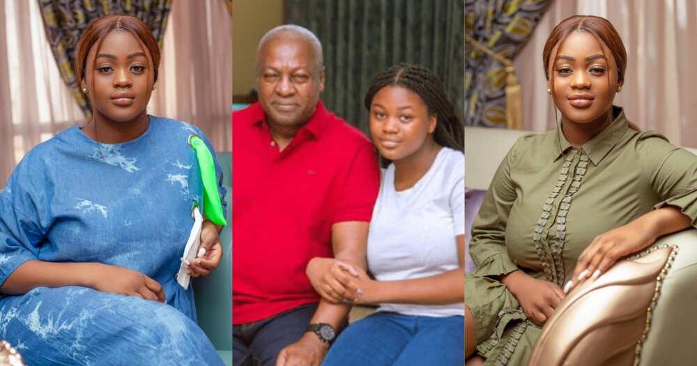 Farida: John Mahama Celebrates Daughter's Birthday With 2 Stunning Photos