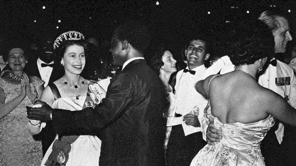 Queen Elizabeth II's trip to Ghana and dance with Nkrumah captured in photo and video