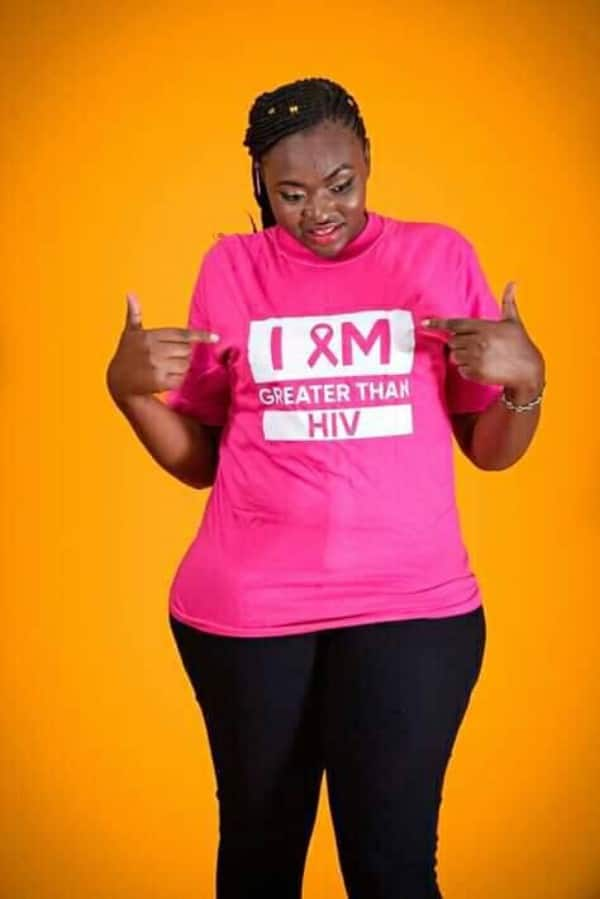 Photos: 26-yr-old Kenyan lady Doreen Moraa Moracha born with HIV shares her story