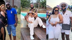 McBrown and her husband give fashion goals as they step out with black & white combination in new photo