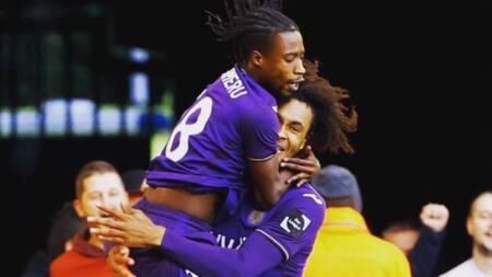 Ghana midfielder Majeed Ashimeru scores first Anderlecht goal in big win against Beerschot