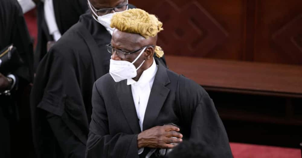 I do not see myself as a lawyer who knows better than the court – Akoto Ampaw