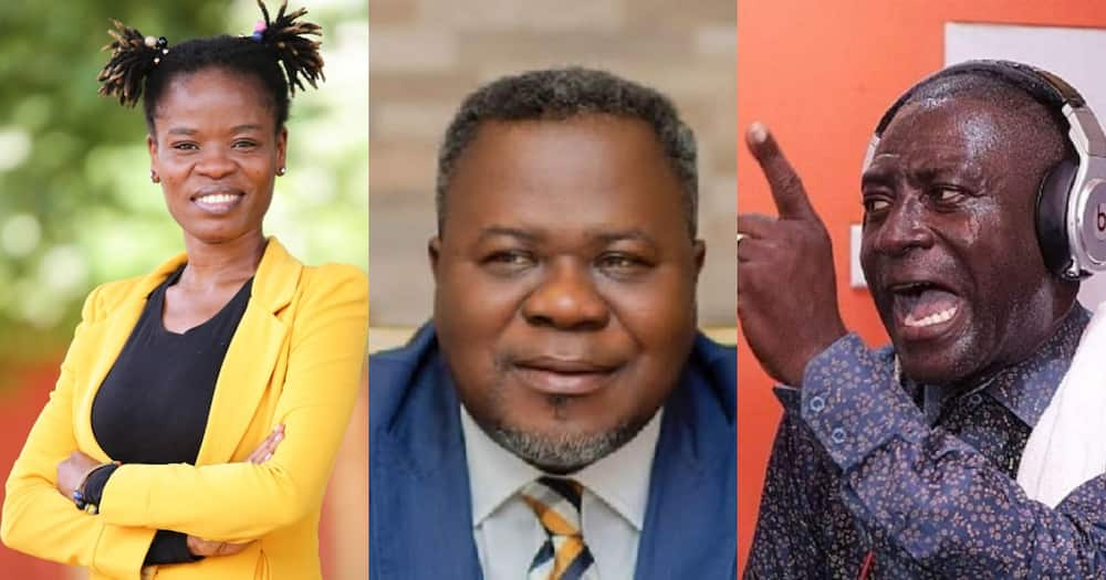 Captain Smart lied about why Dr. Kwaku Oteng suspended him; Ohemaa Woyege reveals
