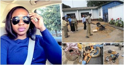 Fear grips residents as fetish items are discovered in home of alleged ritualist slay queen (photos)