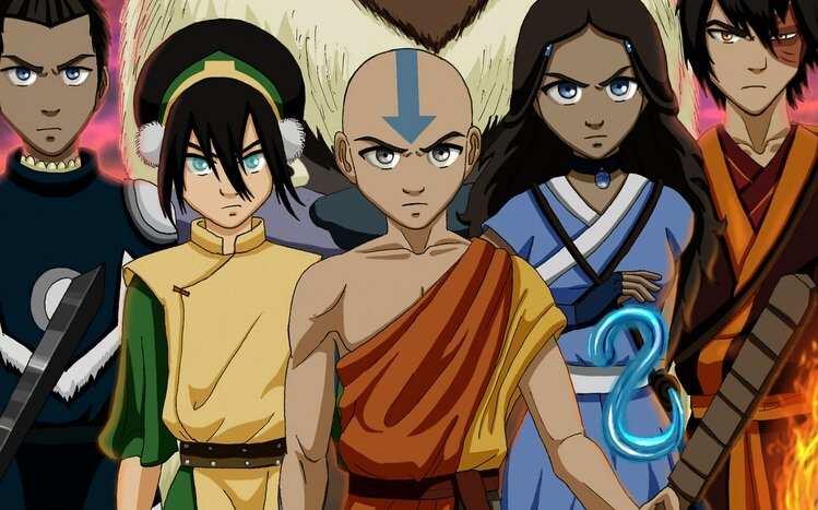 Avatar The Last Airbender Netflix cas