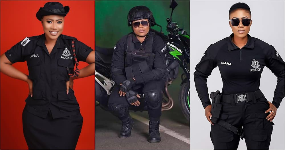 Maya: Pretty Policewoman Shares Beautiful Photos To Celebrate 13th Year In Service