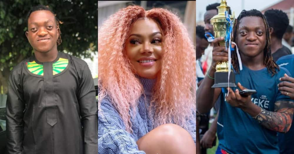 Sumsum Ahuofe lists 3 actresses he wants to play a romantic scene with in a movie