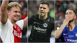 Top 10 biggest transfer deals of the summer so far including Hazard's Real Madrid move