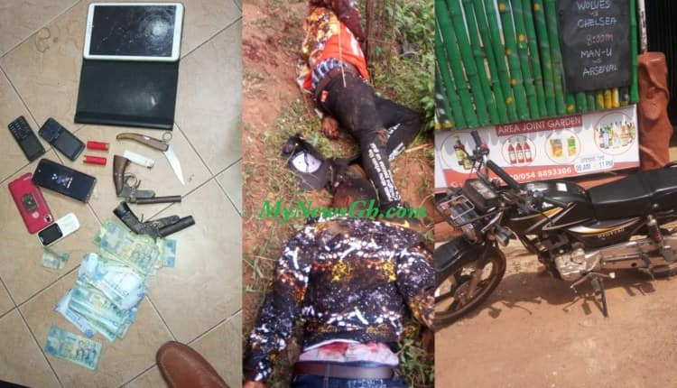 Two hardened criminals gunned down in shoot out with police