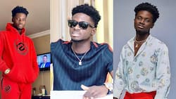 Childhood photo of Kuami Eugene hits the internet; fans can't stop laughing