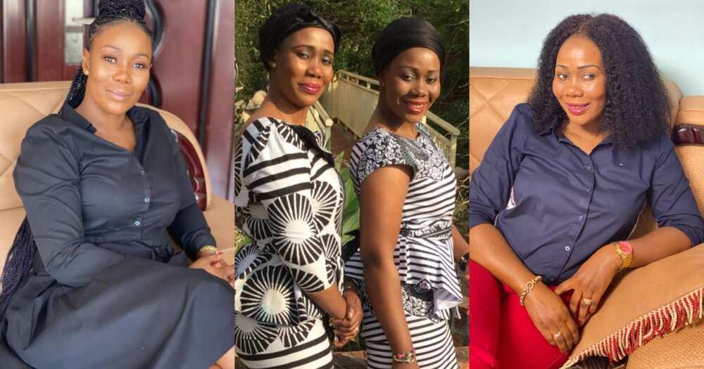Sandra Adu: Kumawood actress Borga Sylvia and twin sister celebrates birthday (photos)
