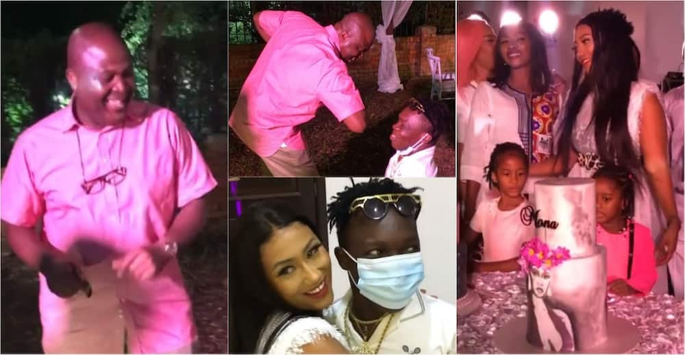 Ibrahim Mahama, Hajia4reall, Shatta Bandle, others prove dance skills at plush b'day party