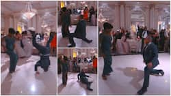 Man steals show at wedding with powerful dance moves on his head; video goes viral