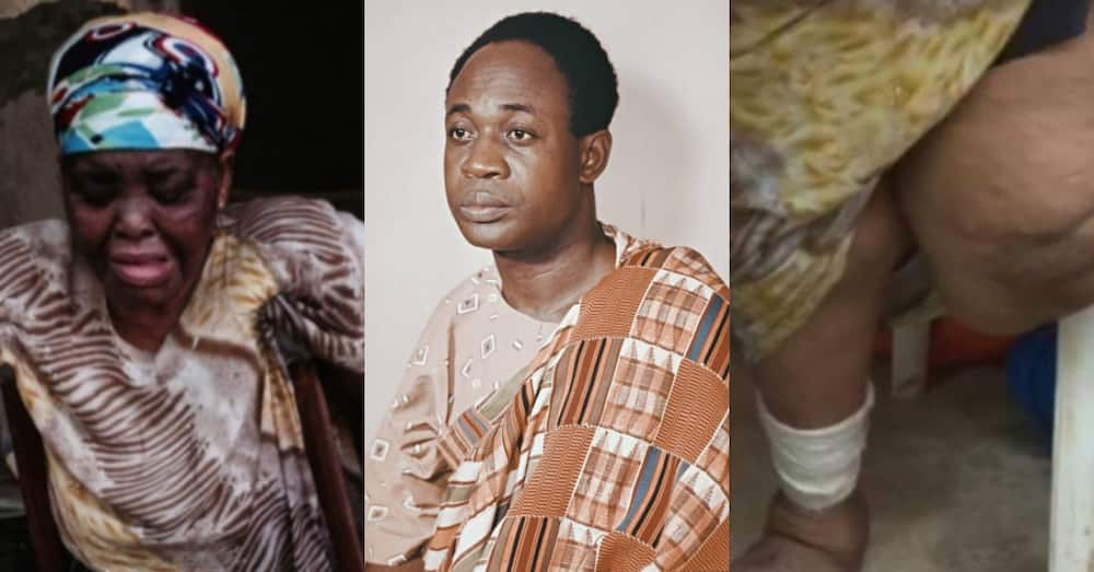 Girl who was sent to bomb Dr Kwame Nkrumah at age 13 now old & in pain; speaks in video