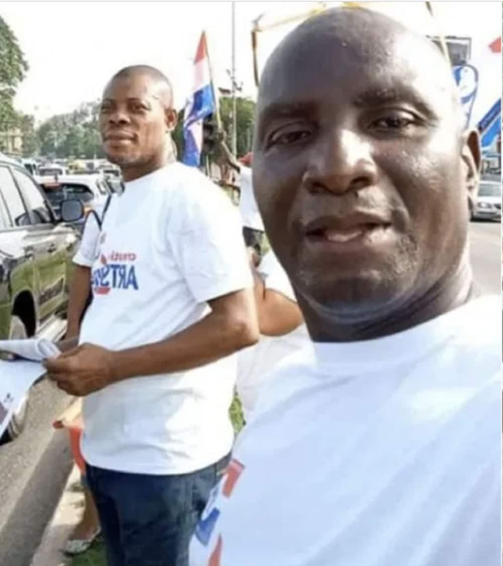 'Sick' Waakye campaigns for Akufo-Addo amid reports of being seriously sick