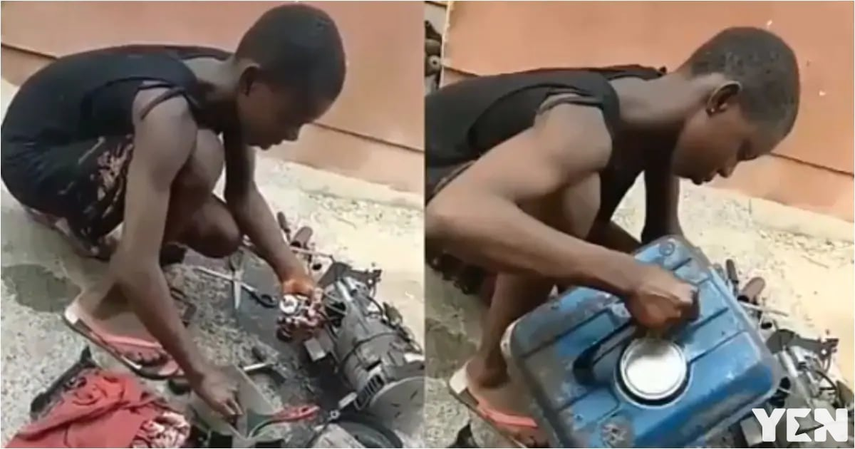 Meet hard-working 11-year-old girl who services and repairs generators for a living (video)