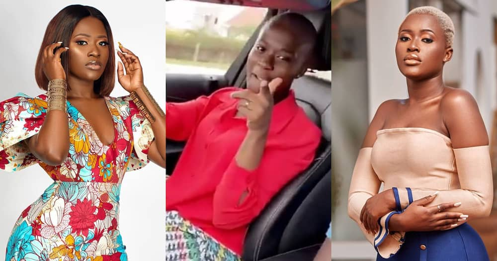 Fella Makafui steps out for the first time after giving birth to Medikal's daughter