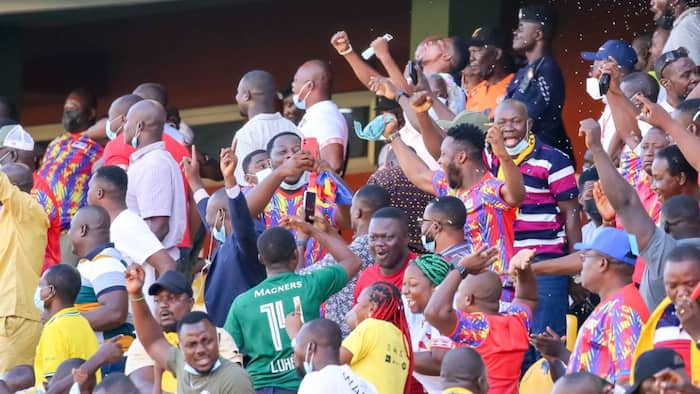 CAF CL: Isaac Mensah's clinical finish earns Hearts first leg victory against Wydad