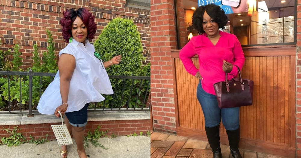 Adombi Serwaa: 7 photos of Efia Odo's mother that prove she is like just her daughter