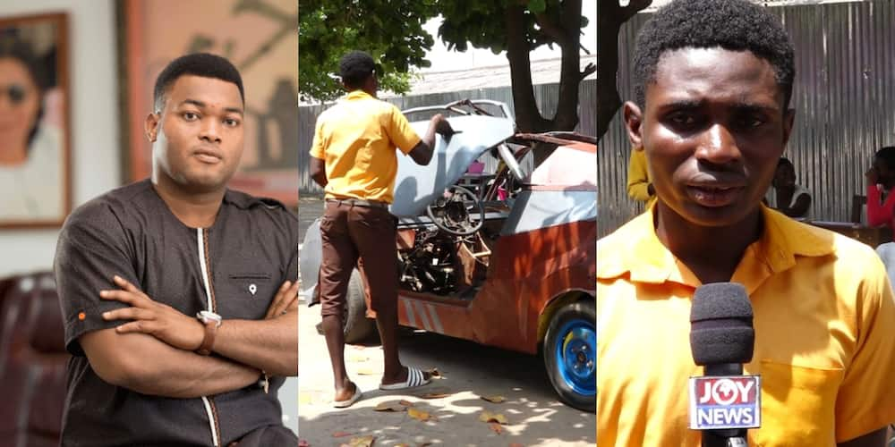 The best place to nurture his talent is with Kantanka - Kwadwo Safo to JHS 'inventor'
