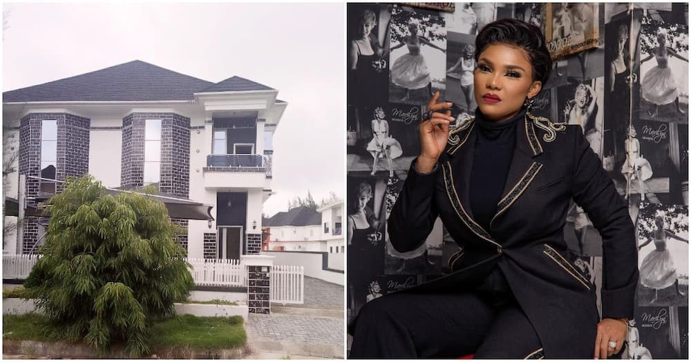 Iyabo Ojo buys new mansion in Lagos, see first photo