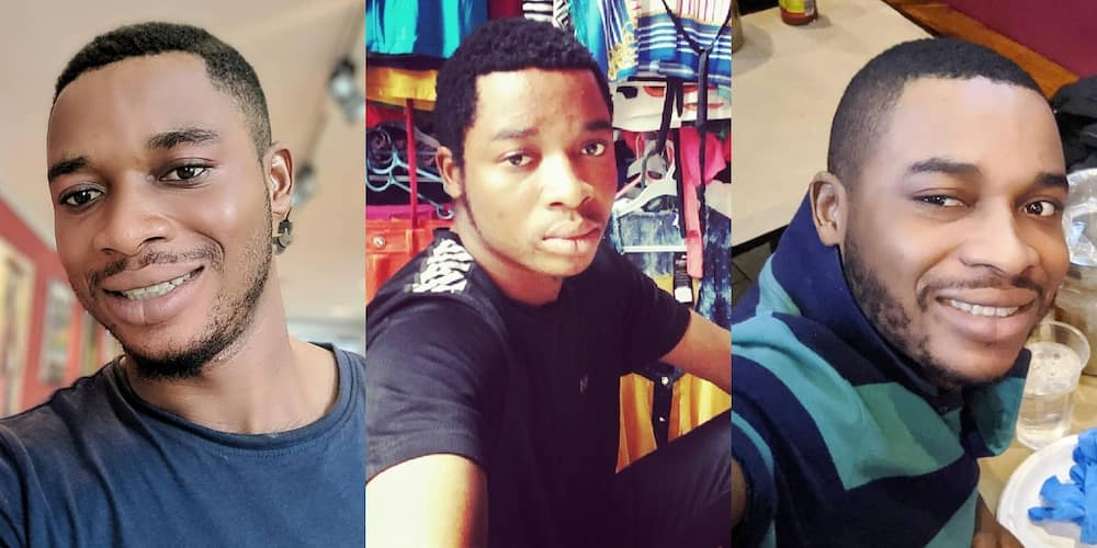 Meet Jonas Twene the young man now popular for comparing Ghana to USA