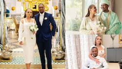 Mahama's son and Algerian wife celebrate 1st marriage anniversary with lovely photos