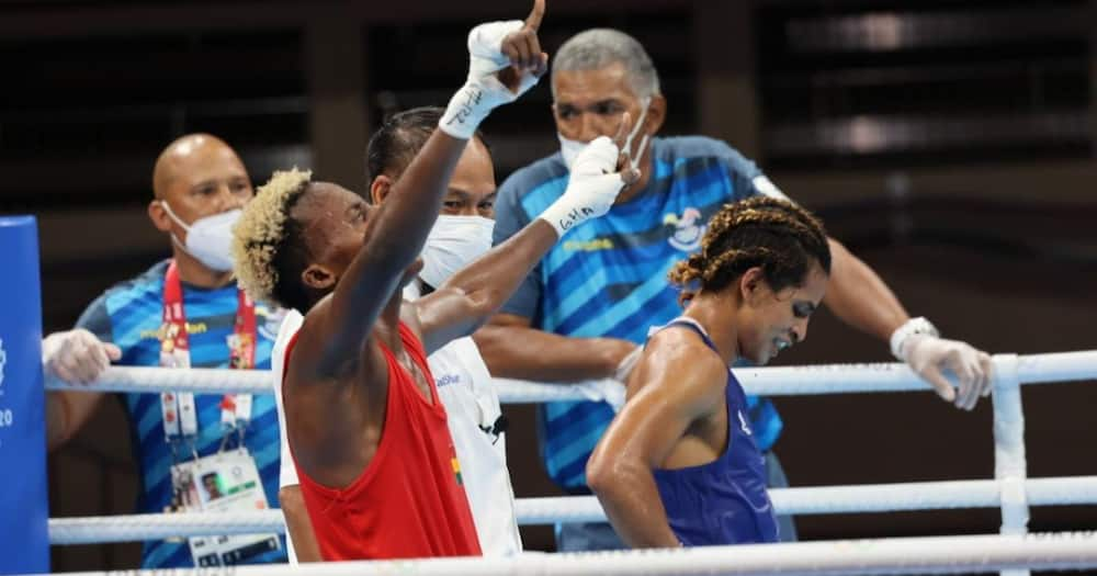 Tokyo 2020: 20-year-old boxer Samuel Takyi advances to the quarter finals after beating Caicedo Pahito