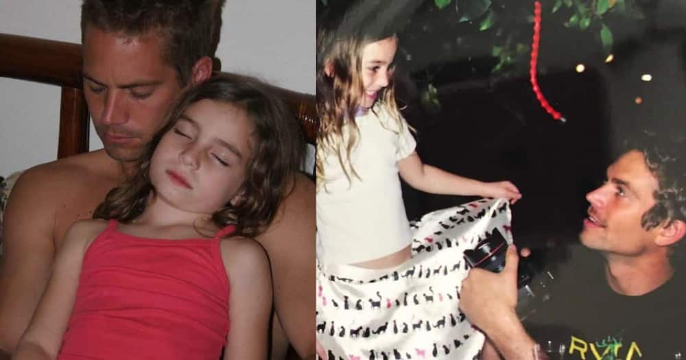 Paul Walker's daughter must have made him proud.