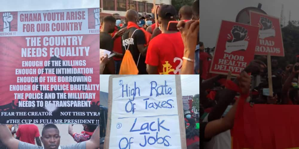 FixTheCountry: Ghanaians protest to demand better living conditions on Founder's Day