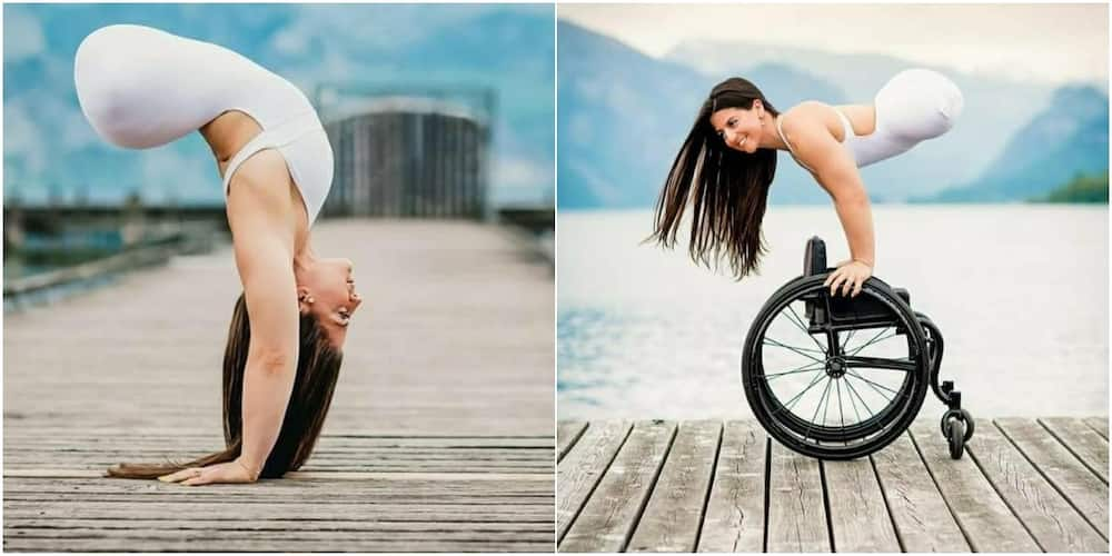 Jen Bricker Bauer: Gymnast who was born without legs but has achieved success