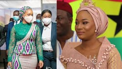 Second Lady: Samira Bawumia steals spotlight at final SONA with stunning outfit