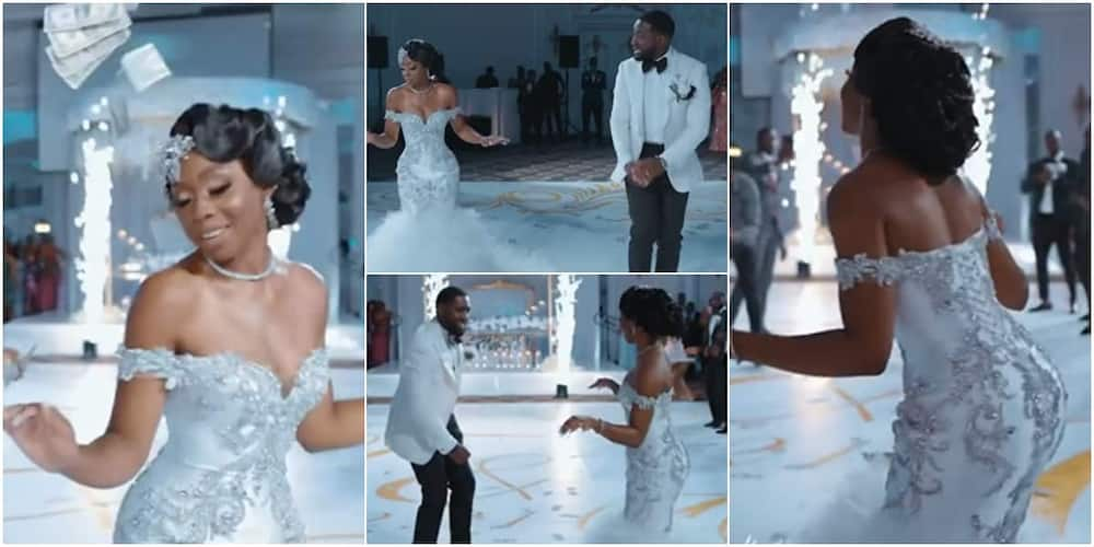 The Nigerian bride wowed many with her dancing skills